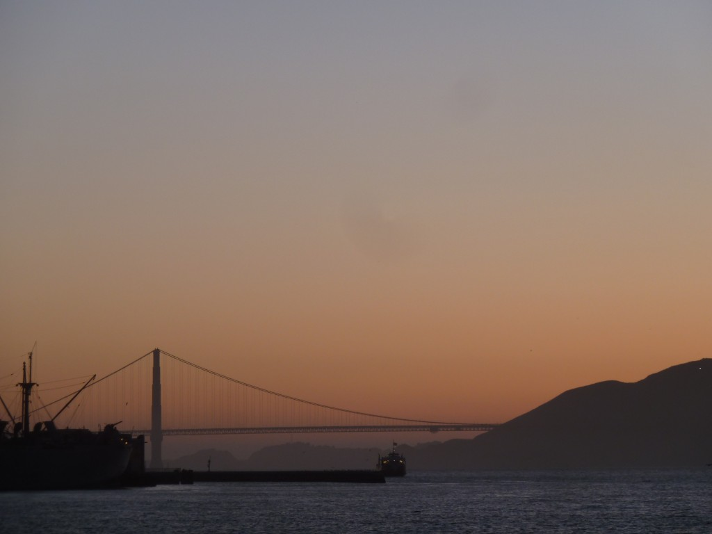 Golden Gate sunset